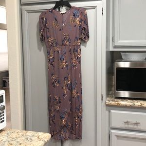 Floral Maxi Dress Used in Woman